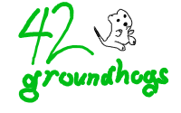 42 groundhogs logo